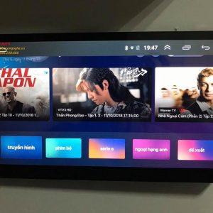 Màn Hình DVD Android 4G Cho Xe Oto Toyota Innova số tự động 2007-2014