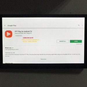 Màn Hình DVD Android 4G Cho Xe Hơi Toyota Fortuner số tự động 2007-2014
