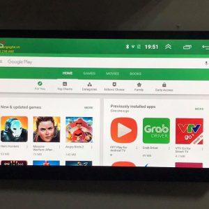 Màn Hình DVD Android 4G Cho Xe Oto Toyota Fortuner số sàn 2007-2014